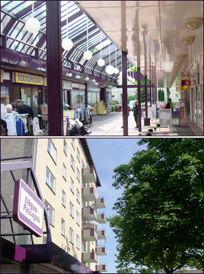 Einkaufszentrum Elbgau-Passagen in Hamburg-Lurup