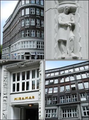 Miramar-Haus in der Hamburger Altstadt